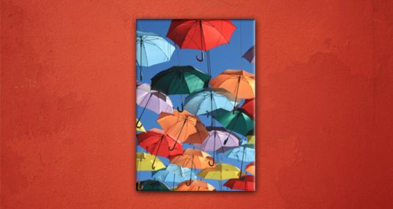 Wanddecoratie: kleur