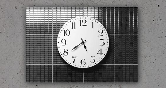 Wanddecoratie: klok