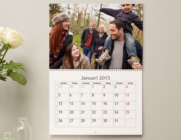 Samen familiekalender maken