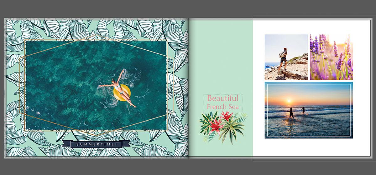 Vakantie fotoboek creatieve ideeën