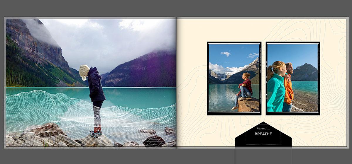 Vakantie fotoboek tema foto's