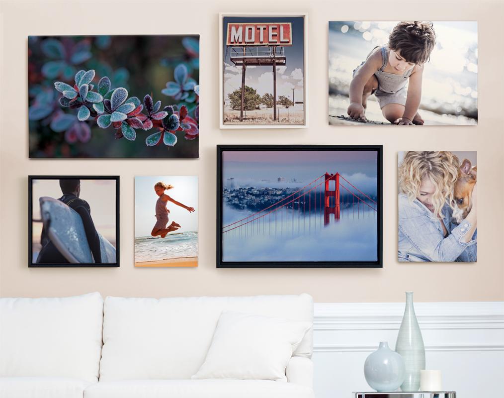 7 creatieve manieren om wanddecoratie en foto afdrukken in huis op