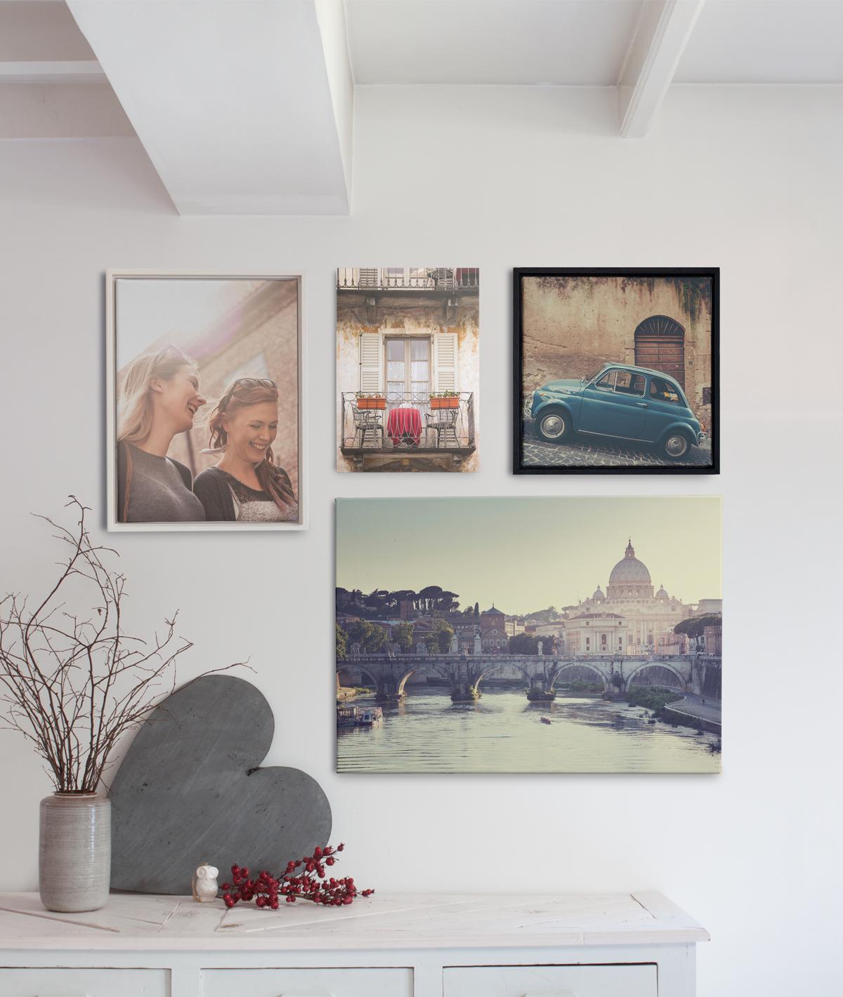 Fotokader Verschillende Fotos.7 Creatieve Manieren Om Wanddecoratie En Foto Afdrukken In Huis Op