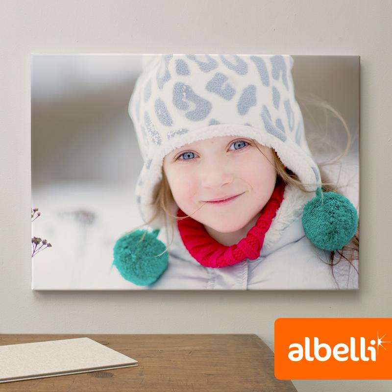 Jouw Foto op Canvas - Canvas Liggend 30x20 cm.