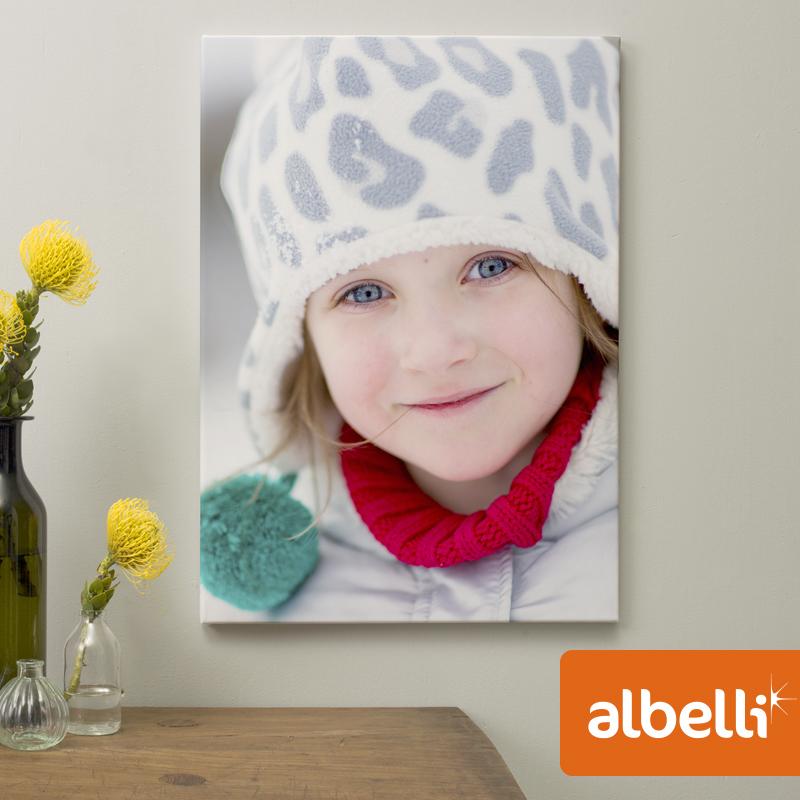Jouw Foto op Canvas - Canvas Staand 20x30 cm.