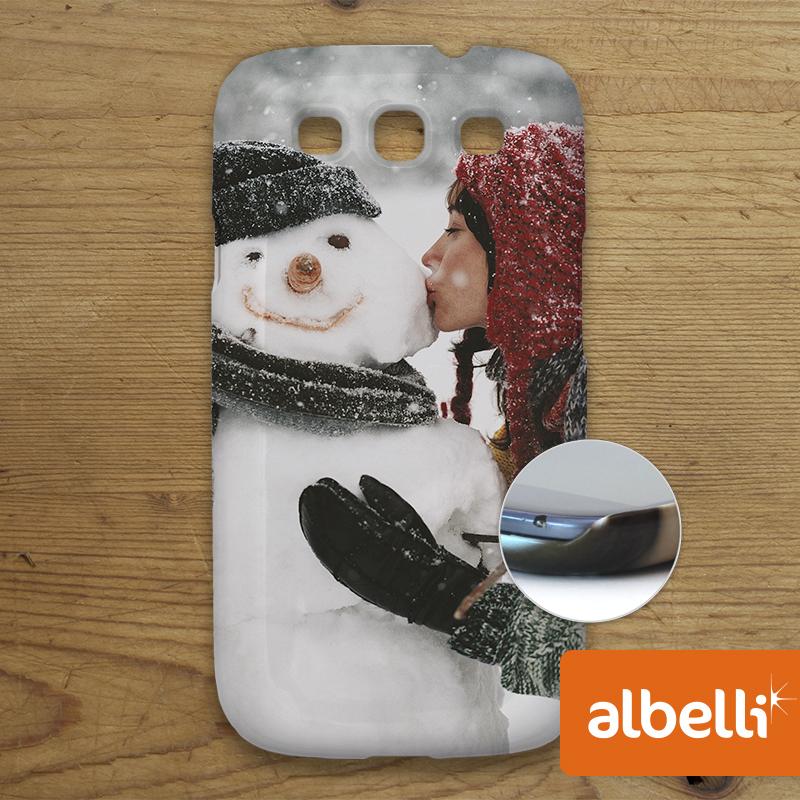Jouw Foto op een Telefoonhoesje - Telefoonhoesje Samsung Galaxy S4.
