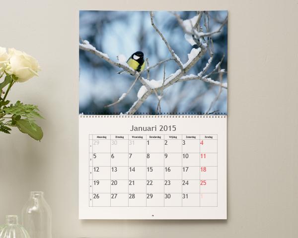 fotokalender maken persoonlijke kalender met eigen fotos. Black Bedroom Furniture Sets. Home Design Ideas